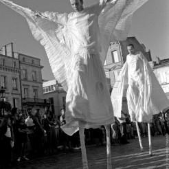 Les Anges par Ohé la Cie! Fest'art Libourne 2007